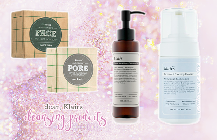 Dear Klairs Cleansing Products Notino