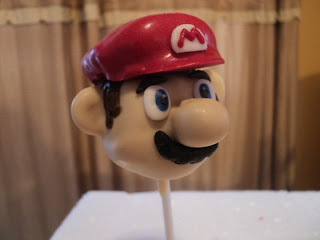 How To Make Super Mario Mushroom Cake Pops