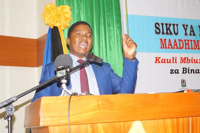 JAFO: Kuzingatia maadili na kupiga vita rushwa ndio msingi Mkuu wa Maendeleo ya Taifa