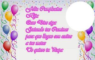 Feliz Cumpleaños Hija 7