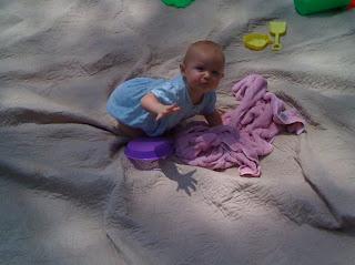 Zeva+playing+in+the+sun.+