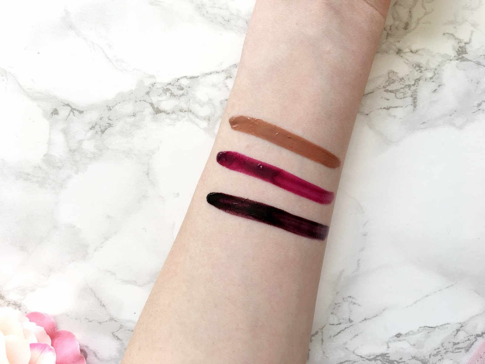 Maybelline Vivid Hot Lacquer Swatches