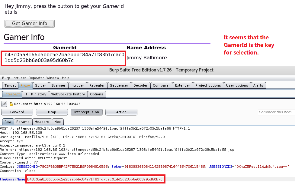 OWASP Security Shepherd Project - NoSQL Injection One (Injection