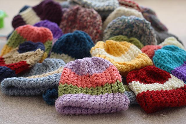 cb8b7cf4a7c How to make preemie loom hats! - BabyCenter