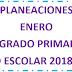 PLANEACION (enero) 4° PRIMARIA CICLO ESCOLAR 2018-2019.