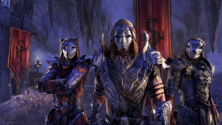 elder scrolls online dragon priest mask