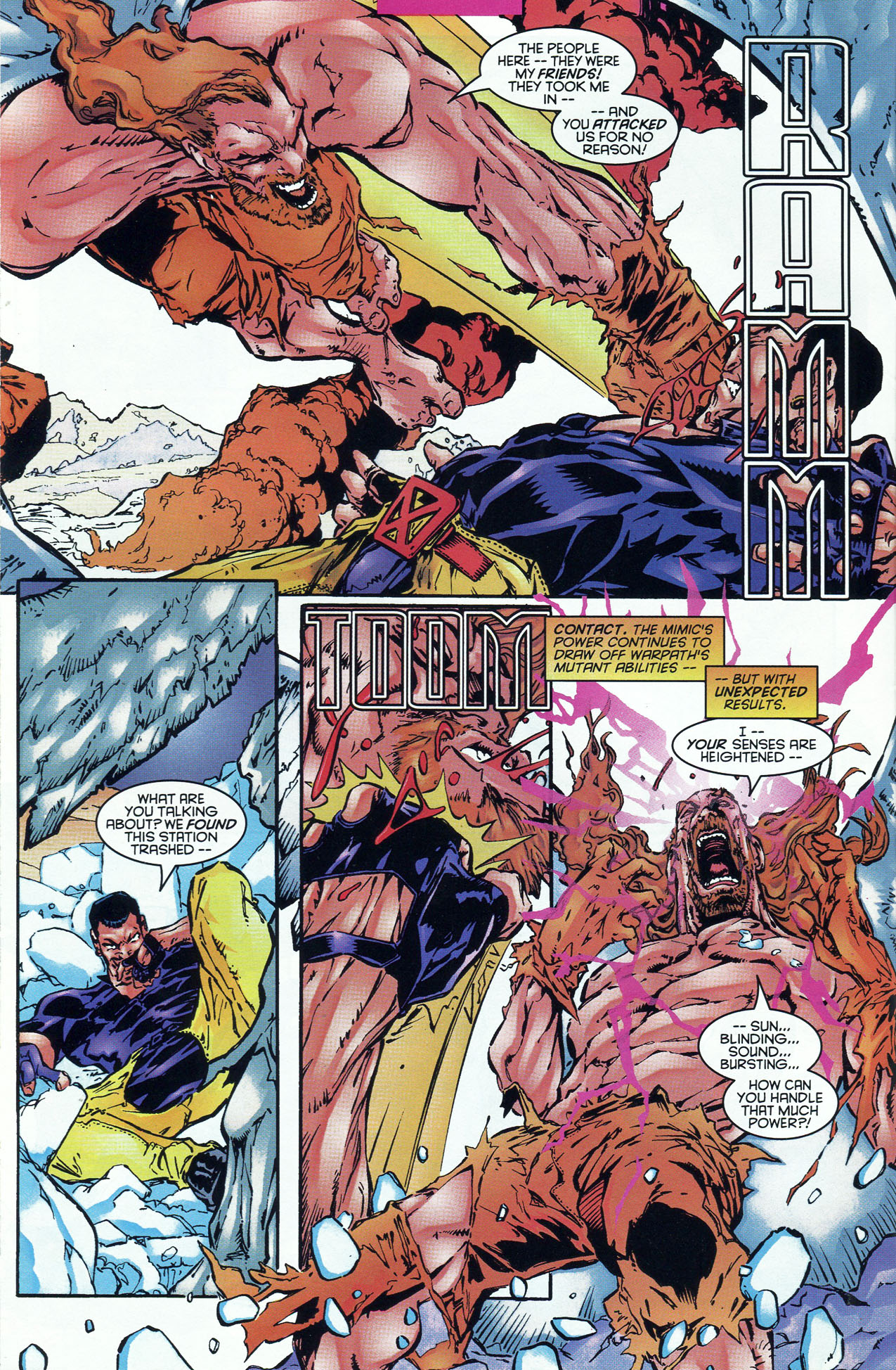 Read online X-Force (1991) comic -  Issue #46 - 9