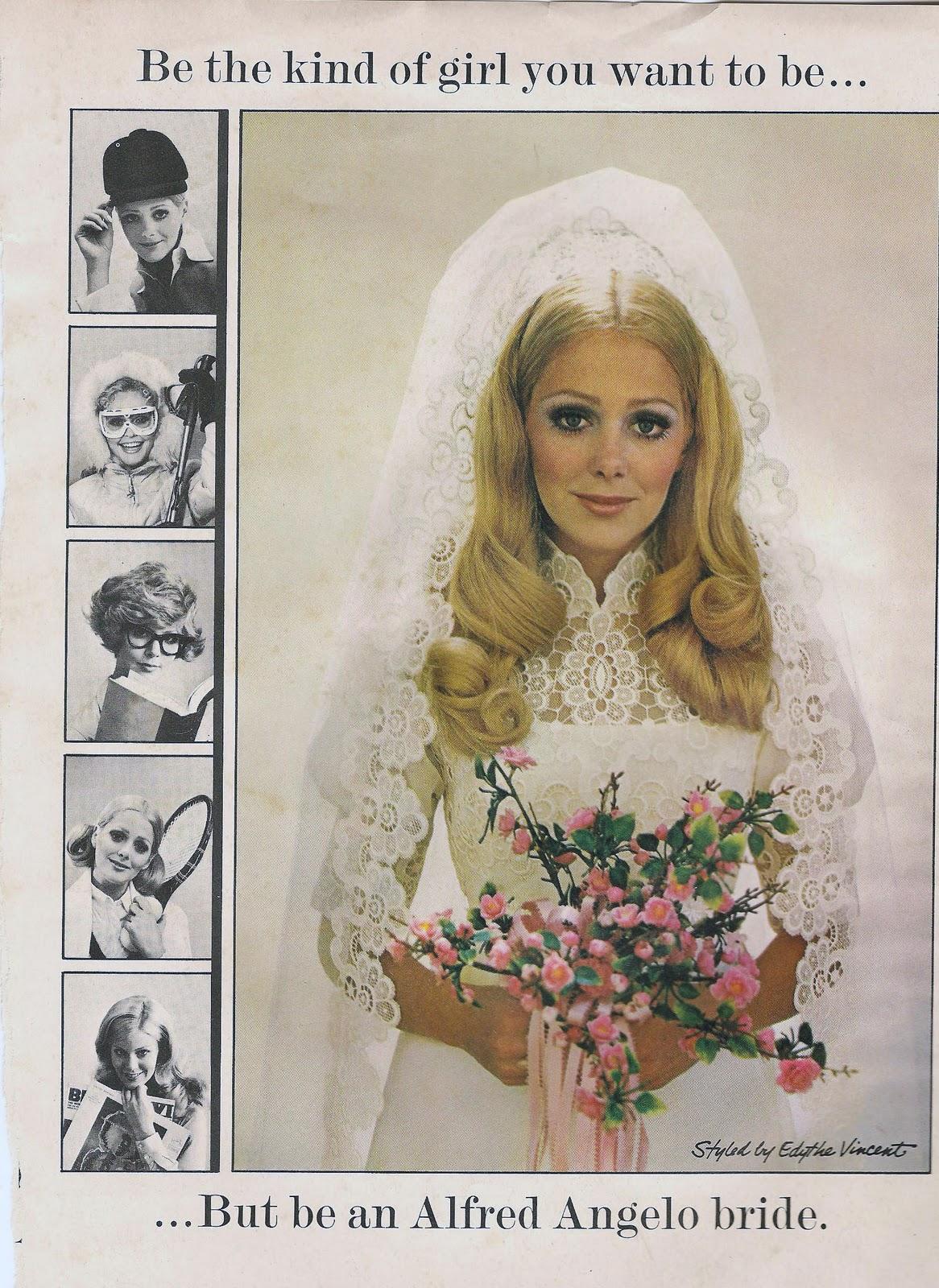 Weddingzilla: Vintage Retro Wedding Dress Photos Bride's ...