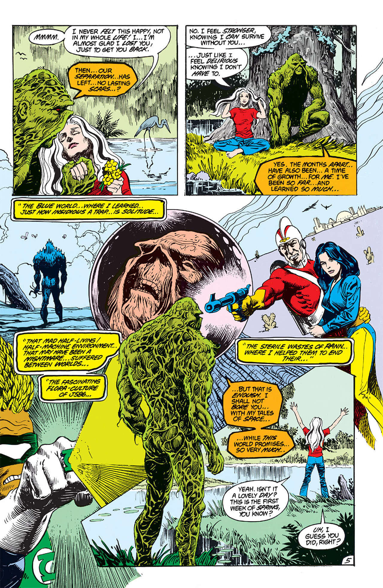 Swamp Thing (1982) Issue #64 #72 - English 6