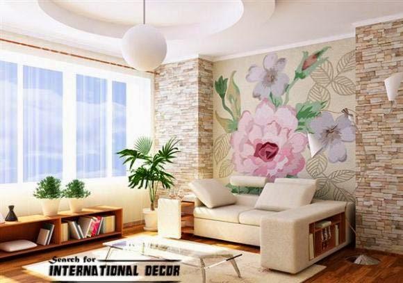 Marvelous Top Trends Of Decorative Stone Wall For Living Room Download Free Architecture Designs Saprecsunscenecom