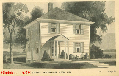 Sears Gladstone small porch 1938