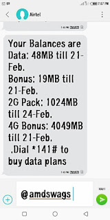 airtel 4g free 4gb data