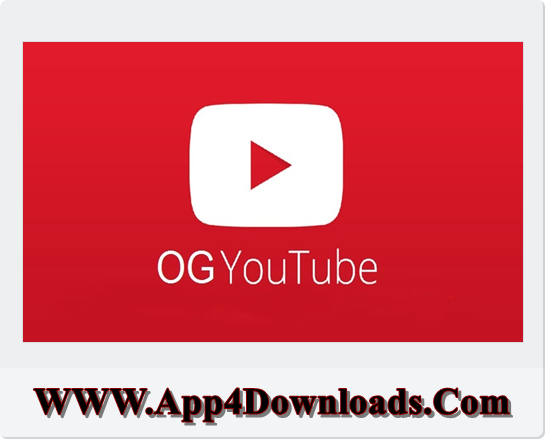 OGYouTube 12.10.60-3.5U Download For Android