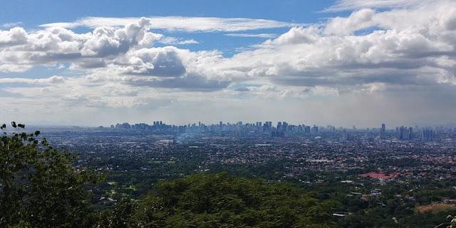 View of Metro Manila before the lockdown