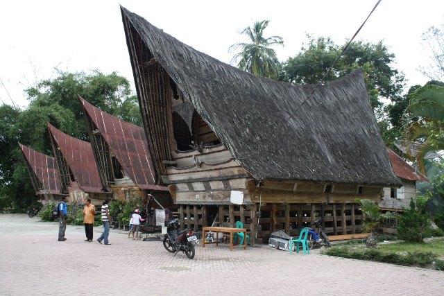 Inilah Rumah Adat Batak Toba Sumatera Utara Batak Network