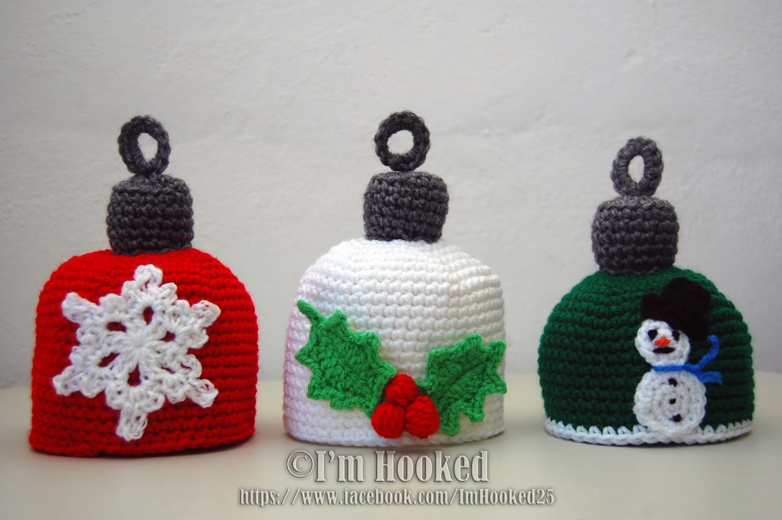 Crochet Treasures: Christmas Ornaments Hat