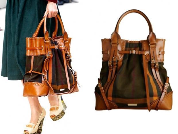 fdbdca821ec9 Manila Care  Distinctive Burberry Prorsum Handbag Spring 2012 Collection