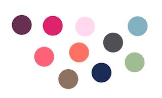 les coloris de la p'tite manufacture pour les tricotins personnalisables