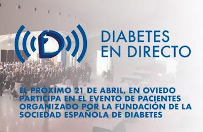 Oviedo Acogerá La Primera Diabetes En Directo