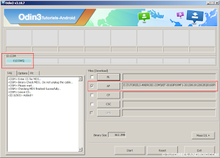Installer la ROM officielle I8190PXXMF1