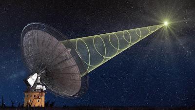 uzaydan gelen sinyal nereden geliyor
