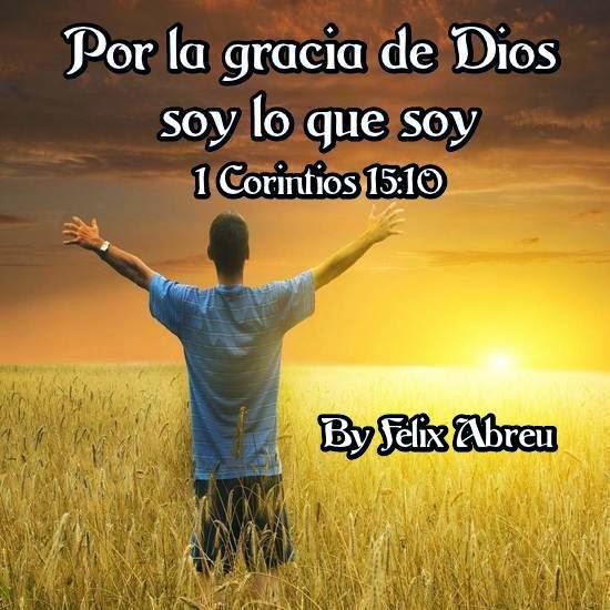 Por Dios Gracia Bendecido La De Soy