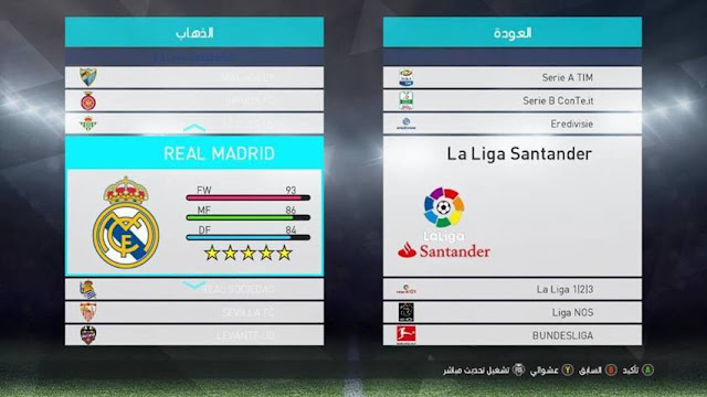 PES 2018 Graphics For PES 2017