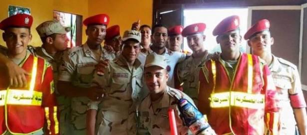 """محمد رمضان يقدم أوراقه بالجيش المصري ويعلق باذن الله """"العريش """""""