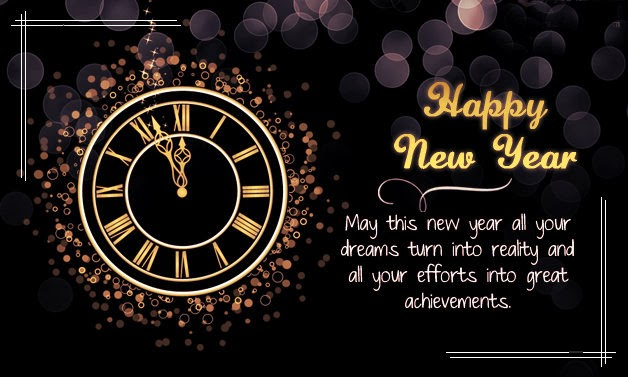 happy new year greetings 2018 for friends