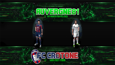 PES 2013 Kitpack by Auvergne81 Season 2017/2018