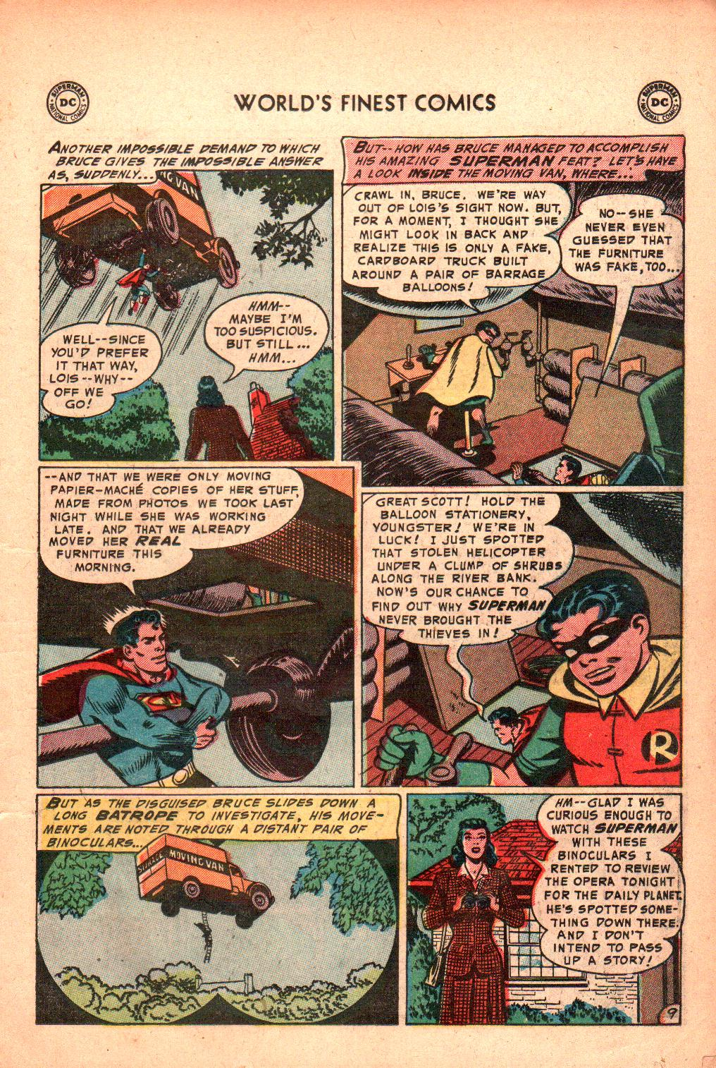Read online World's Finest Comics comic -  Issue #71 - 13