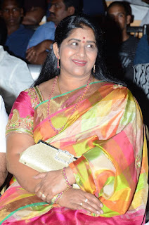 Actress Kavitha Stills in Saree at Premikudu Movie Audio Launch  0001