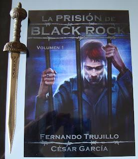 Portada del libro La prisión de Black Rock. Volumen 1, de Fernando Trujillo y César García