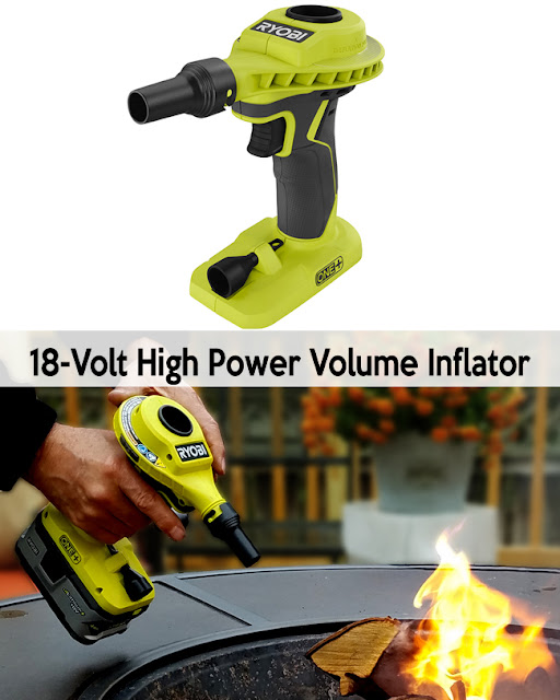 Power volume inflator