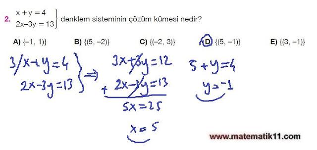 11. Sınıf Matematik Nova Yayınları Ders Kitabı 148. Sayfa İleri Düzey Çözümleri
