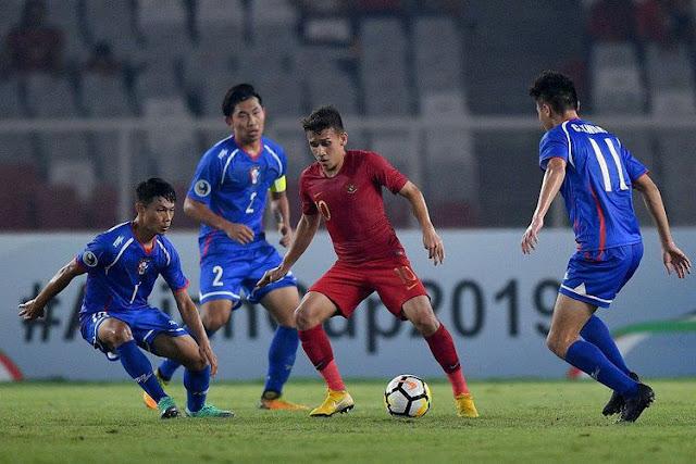 Timnas U-19 Tertolong Blunder Tim Lawan, Indonesia Menang 3-1