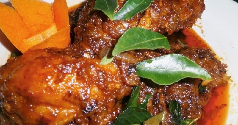 resepi kari ayam mamak haji krikilan Resepi Ayam Kukus Berempah Enak dan Mudah