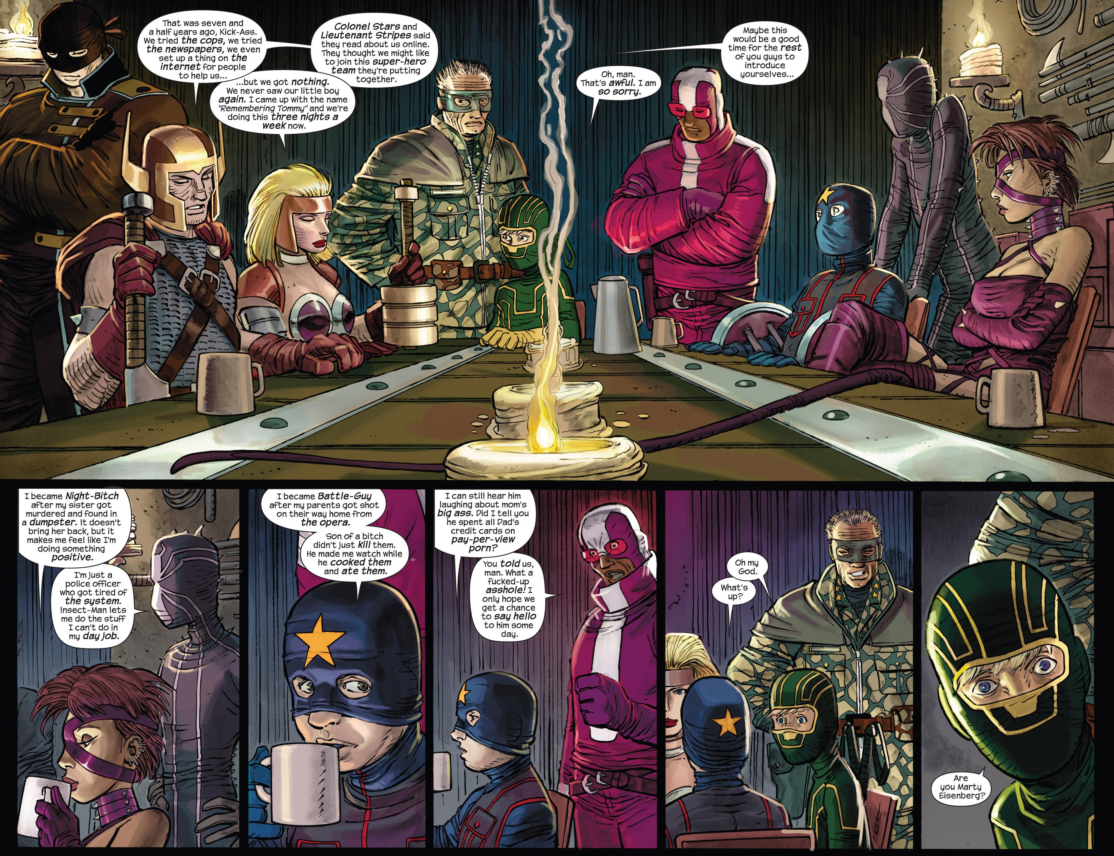 Kick Ass 2 Issue 3   Read Kick Ass 2 Issue 3 comic online