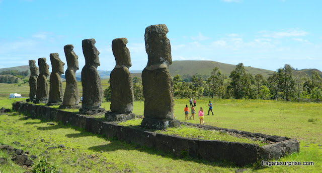 Ilha de Páscoa, los Siete, Ahu Akivi