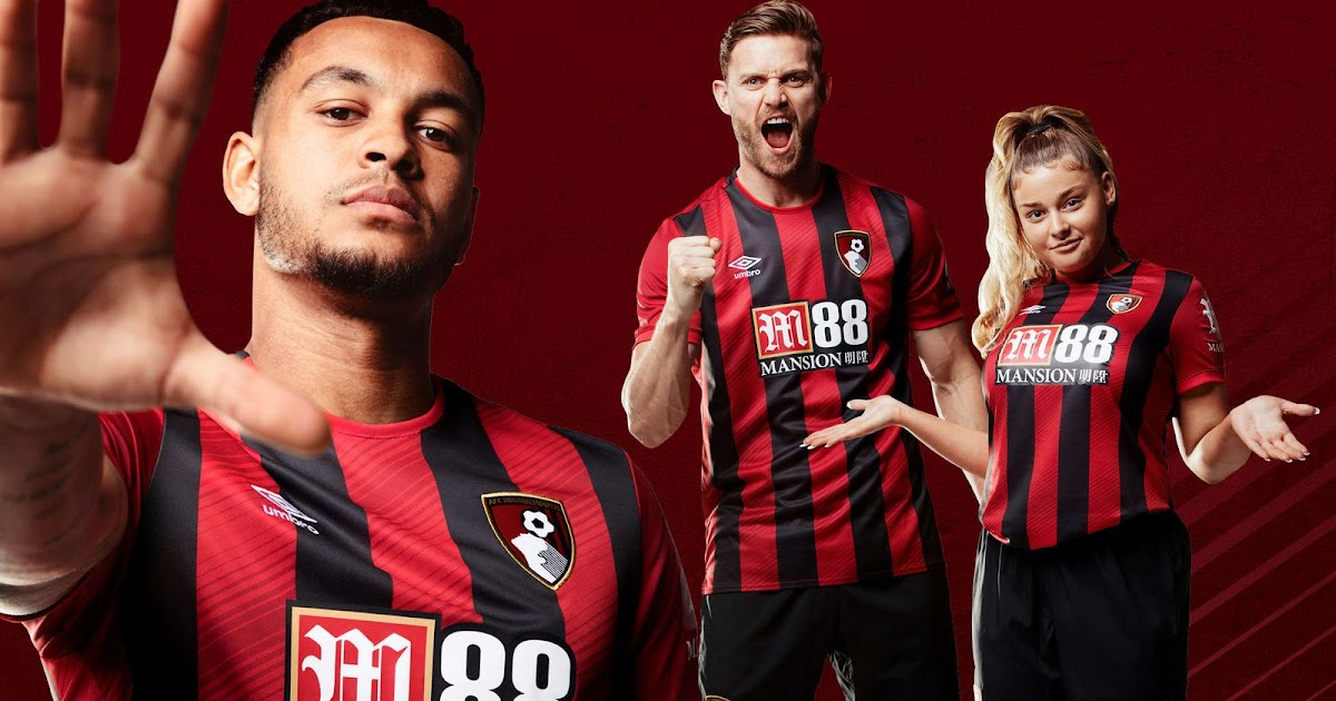 Bournemouth 19 20 Home Kit Revealed Footy Headlines