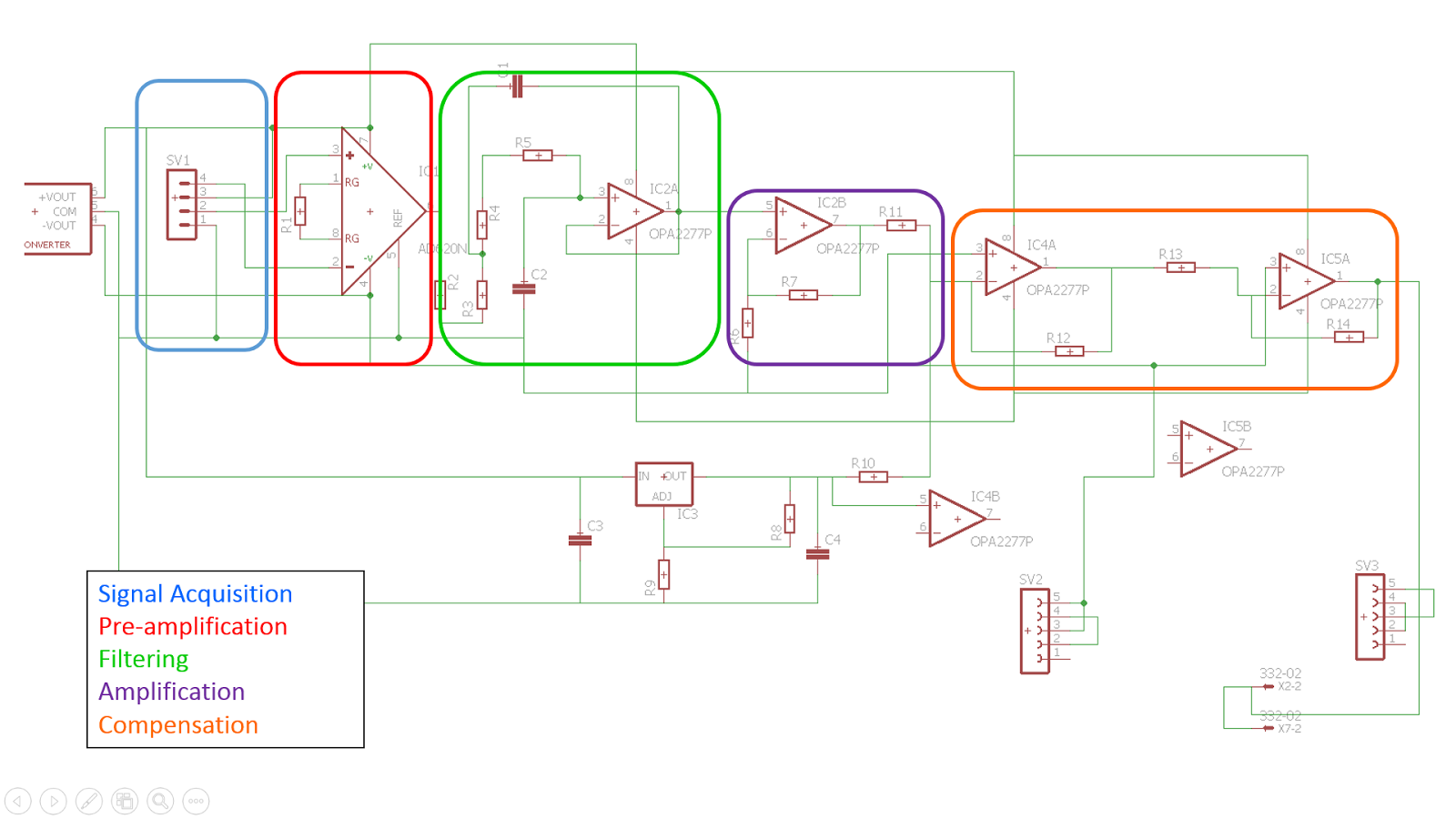 Prototype Of A Spirometer Final Project Schematic Diagram X2 02 Acquisition And Conditioning Circuit