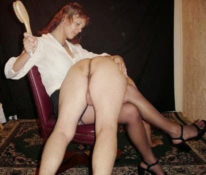 cfnm spanking erection