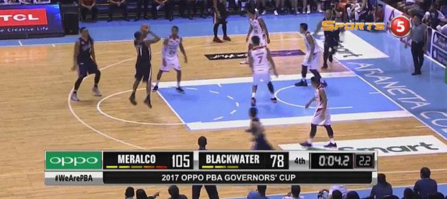 Meralco def. Blackwater, 107-78 (REPLAY VIDEO) July 21