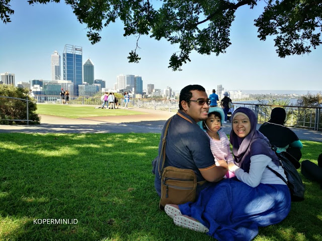 Mount Eliza tempat tercantik melihat kota Perth