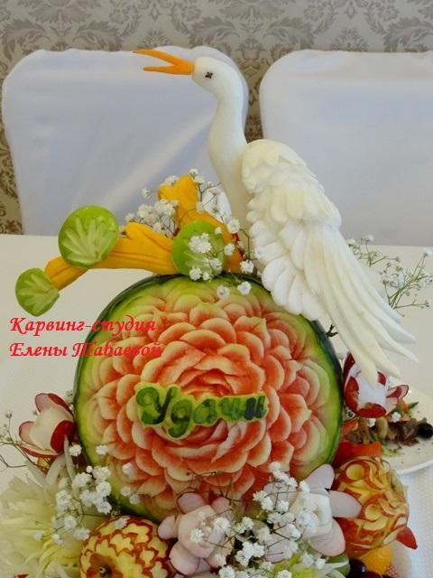 украшение из фруктов