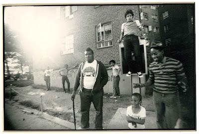 Afrika Bambaataa en el Bronx en los años 70