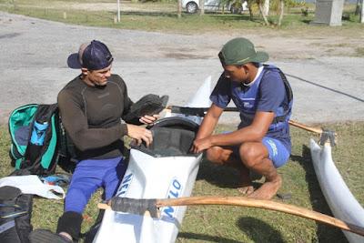 Campeões da paracanoagem treinam, na Ilha Comprida, para o mundial, em Portugal