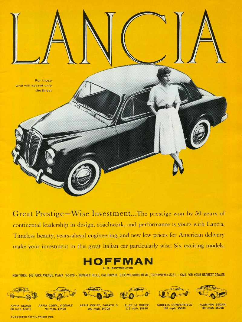 vintage car ads from the 1960s | vintage everyday: Vintage Car Advertising Posters in US from