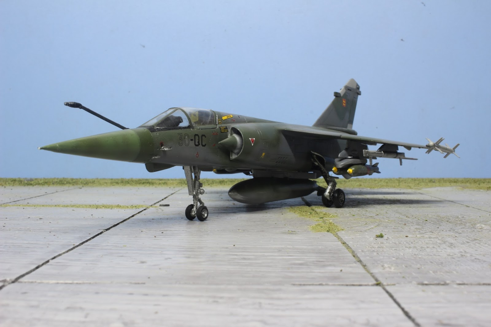Rony La Maquette Maquette Du Mirage F1 Ct D Italeri Au 1 48