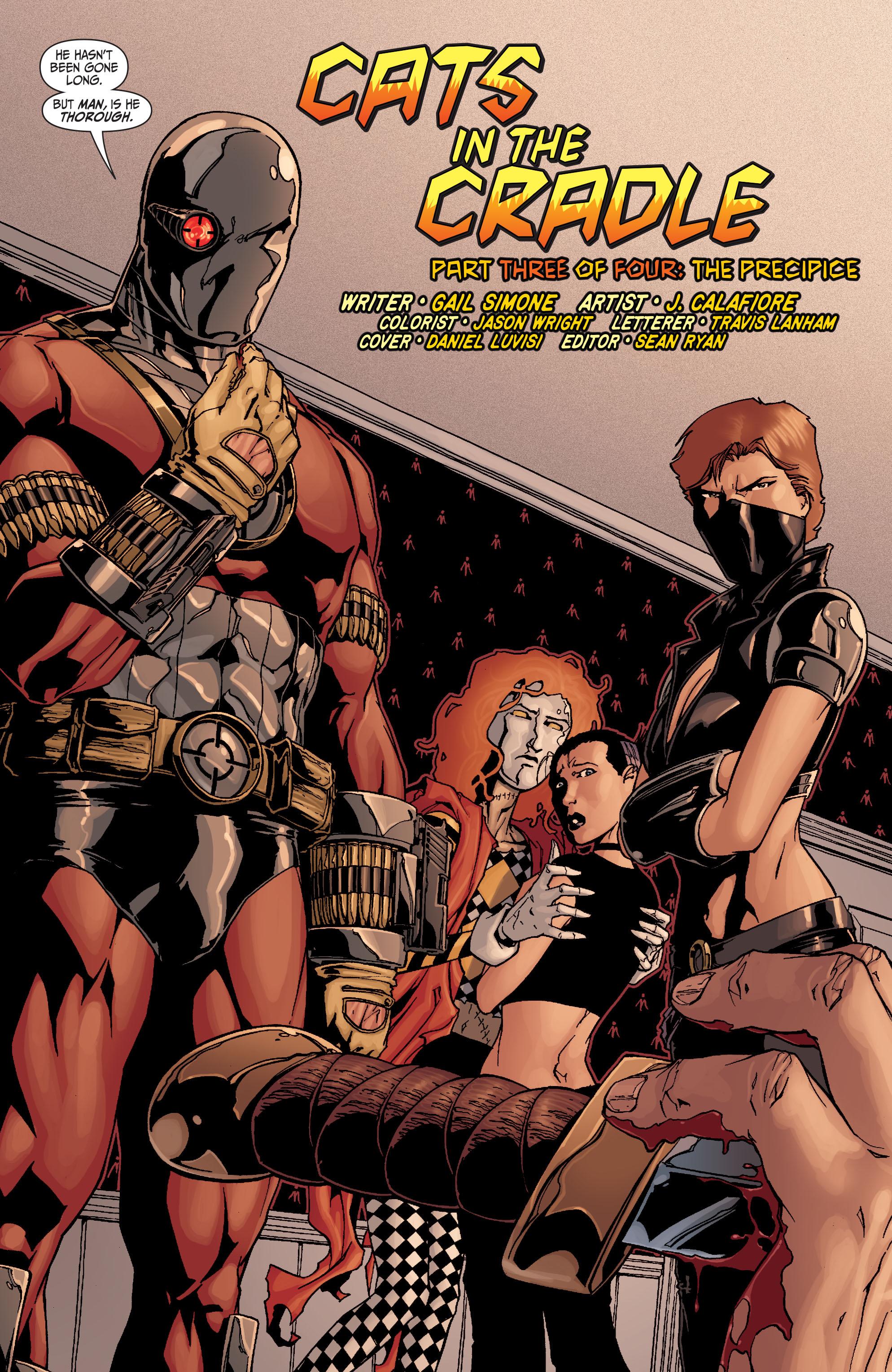 Read online Secret Six (2008) comic -  Issue #21 - 7